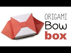 Origami Bow Box V2 Tutorial ♥ - YouTube
