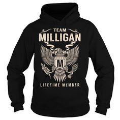 Team MILLIGAN Lifetime Member - Last Name, Surname T-Shirt
