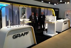 GRAFF's friendly & knowledgeable sales team at ICFF 2013 in New York City. Stop by booth #1240 to say to TJ, Al, and Chris.