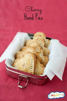 easy to make cherry hand pies are perfect for kids!