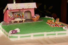 Bunny Picnic Cake