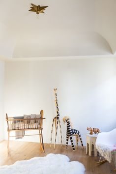 West Hollywood spec house designed by Leigh Herzig, photograph by Laure Joliet | Remodelista #nursery