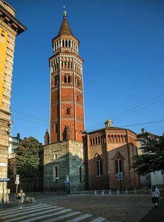Buongiorno #Milano da San Gottardo in Corte Foto di Franco Brandazzi #milanodavedere Milano da Vedere