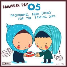 "day 5 ""providing meal for the fasting ones"""