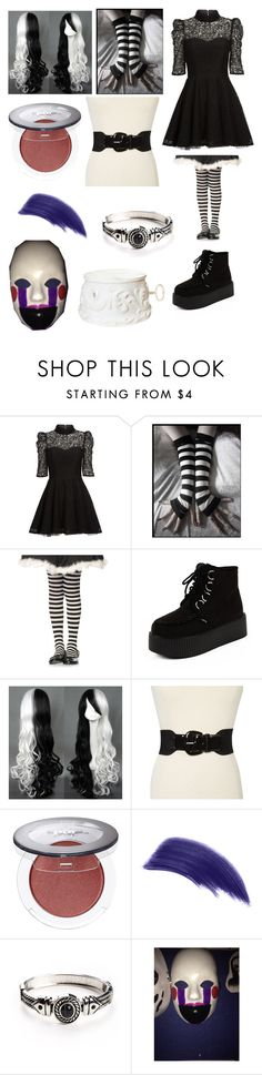 """""""Five Nights at Freddy's Marionette outfit"""" by ender1027 ❤ liked on Polyvore featuring Mairi Mcdonald, Style & Co., Ellis Faas and Freddy"""