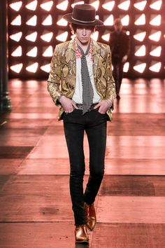 Saint Laurent Spring 2015 Menswear Collection Slideshow on Style.com