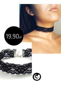 Kup mój przedmiot na #vintedpl http://www.vinted.pl/akcesoria/bizuteria/15706826-choker-z-elastycznej-miekkiej-koronki-milimoon-czarny-szeroki-koronka-naszyjnik