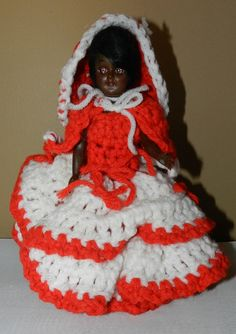 Vintage African American Doll with Hand by PeggysVintageVariety