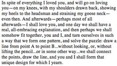 Nabokov, Invitation to a Beheading