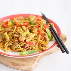 Bami met lekker veel groente