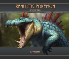 Realistic Pokemon-Volume Two Art Book