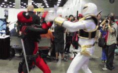El más famoso Deadpool Cosplayer es casi tan divertido como Ryan Reynolds | Orzzzz