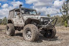 Muddy jeep TJ.....eventually I will have
