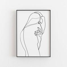 Woman Body Sketch, Art Sketches, Art Drawings, Art Minimaliste, Single Line Drawing, Outline Art, Line Sketch, Abstract Line Art, Wire Art