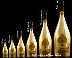 A Melchizedek bottle of champagne has 40 regular sized bottles of champagne in it. That's AOK in my book.