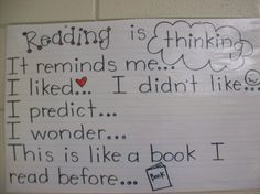 reading anchor charts - Google Search