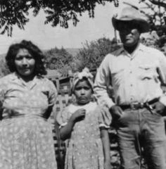 SOUTHERN PAIUTE FAMILY , circa 1936
