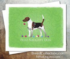 Harrier Hound Dog Christmas Card Collection - Digital Download