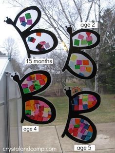 B is for butterfly preschool craft (9) - crystalandcomp