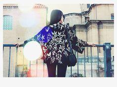 Instant ✨ #autumn #me #changes #revolution #zara #kimono #flowers #detail #pimkie #skinnypants #mango #spikybag #diormakeup #faithcoco #federicacerruti #dubber #blogger