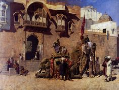 Edwin Lord Weeks (1849-1903) A Rajah Of Jodhpur
