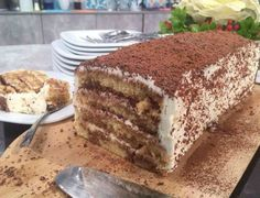 Greek Sweets, Greek Desserts, Party Desserts, Greek Recipes, Cookbook Recipes, Sweets Recipes, Cooking Recipes, What's Cooking, Sweets Cake