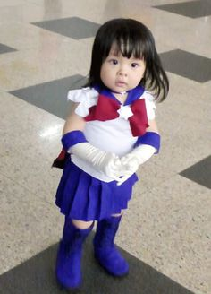 """The most adorable Sailor Saturn you will never meet. 