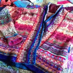 This took in the neighborhood of a year to knit! one day, I will have better photos. Right Christine? Because you cannot imagine how beautiful this is!