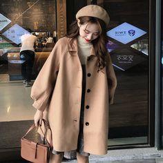Cute Fashion, Look Fashion, Daily Fashion, Winter Fashion, Kpop Outfits, Korean Outfits, Cute Outfits, Fashion Outfits, Iranian Women Fashion