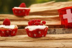 1. of August swiss Cupcakes