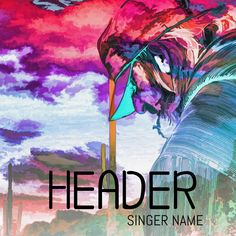 Trippy album cover artwork. Click to customize.