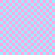 Pink And Blue Checkerboard Pattern