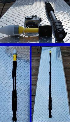 Palmetto kayak fishing kayak fishing monopod conversion for gopro and