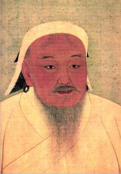 Genghis Khan was the leader of the mongol empire, which we studied