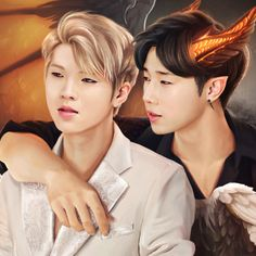 """I'll fly even with my broken wings and catch you, stick to you even if I die."" -Infinite More Woogyu! Kim Sung Kyu, Nam Woo Hyun, Broken Wings, Kpop Fanart, Infinite, My Idol, Kdrama, Anime, Handsome"