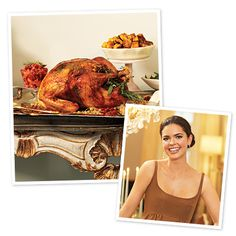 www.instyle.com    Katie Lee's Herb-Roasted Turkey with Maple-Orange Glaze    Ingredients• 1 fresh turkey (12–14 lb.), rinsed and patted dry • 3 tsp kosher salt • 1½ tsp freshly ground black pepper • 11 tbsp Herb Butter