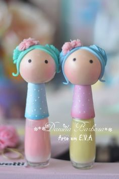 Pasta Flexible, Foam Crafts, Pretty Dolls, Creative Gifts, Biscuits, Clay, Easter, Christmas Ornaments, Holiday Decor