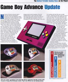 Pocket Gamer (Summer 2000) : Game Boy Advance Update