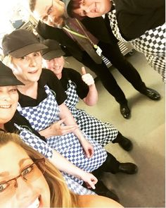 Facilities management business Vertas specialises in catering, cleaning, graphic design and cleaning. The business is proudly local & British, with 72% of its supplies sourced locally and the remainder traceable within the UK. The firm's regional head of services, Karen Burrowes, captured this office selfie with the Vertas catering team at Castle Manor Academy in Suffolk.