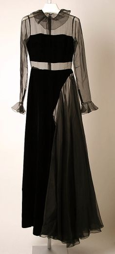 mid 1960s-mid 1970s French silk Lounging Pajamas by Madame Grès (Alix Barton)