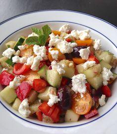 Greek Salad | Living Healthy in Seattle