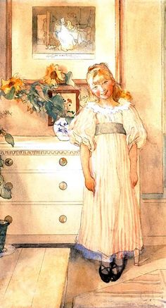 "Carl Larsson (1853-1919), ""Sunflowers"""
