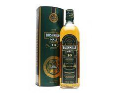 Bushmills 10 Year Old Single Malt Irish Whiskey (Green Label) fényképe.