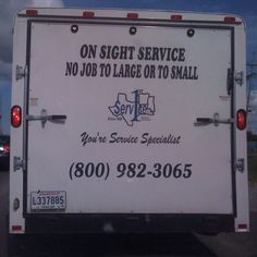 Eee gads! How many mistakes can you find on this ad? How do you think this reflects on the business?