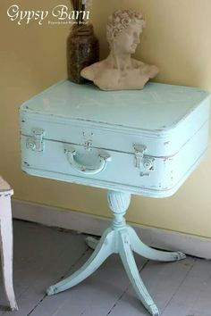 Diy end table l want this!!!