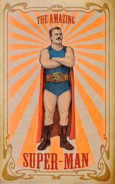Super-Man by Meinert Hansen