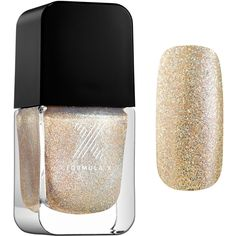 Formula X Divine Stardust Nail Polish Effect ❤ liked on Polyvore featuring beauty products, nail care and nail polish