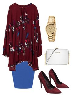 """""""Untitled #90"""" by enaleille on Polyvore featuring WearAll, Wet Seal, Michael Kors and Gucci"""