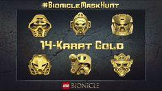 Gagnez un masque Bionicle en or veritable avec le concours #BionicleMaskHunt