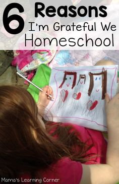 Even though there are many challenges that come with homeschooling, I'm immensely grateful we homeschool. Here are 6 reasons why!